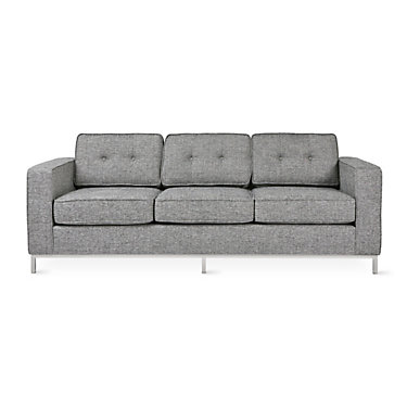JANESOFA-LEASIDE DRIFTWOOD-STAINLESS: Customized Item of Jane Sofa by Gus Modern (JANESOFA)