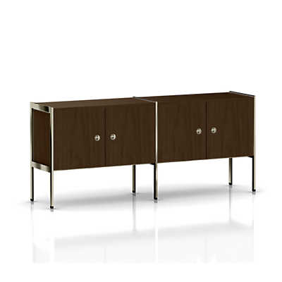 Picture of Geiger Ward Bennett H Frame Credenza, 4 Doors by Herman Miller