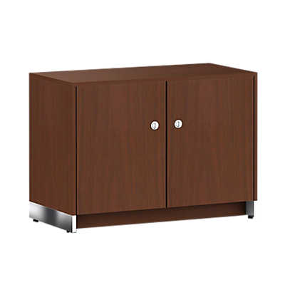 Picture of Geiger Ward Bennett Sled Base Credenza, 2 Doors by Herman Miller