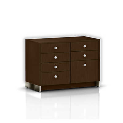 Picture of Geiger Sled Base Credenza, Four Drawers by Herman Miller
