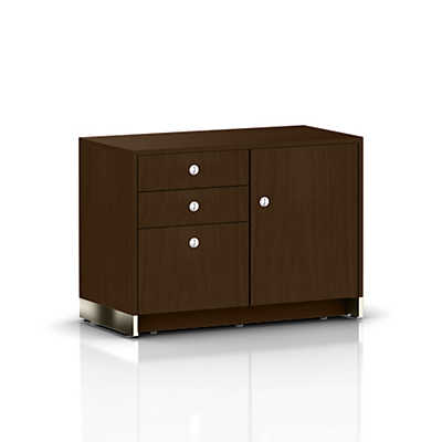 Picture of Geiger Sled Base Credenza, 1 Door with Box, Box, File Drawers by Herman Miller
