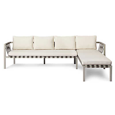 Picture of Jibe Outdoor Sectional Sofa by Blu Dot