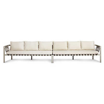 Picture of Jibe Outdoor Extra Long Sofa by Blu Dot