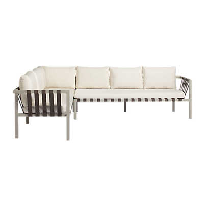 Picture of Jibe Outdoor XL Sectional Sofa by Blu Dot