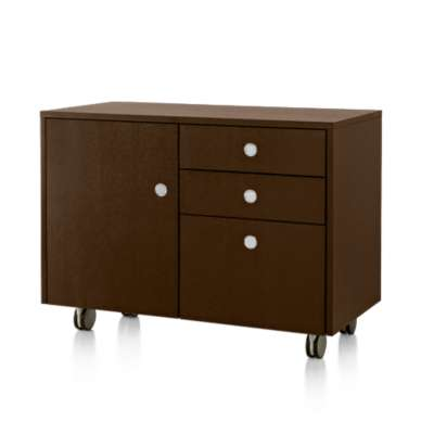 Picture for Geiger Ward Bennett Sled Base Mobile Credenza by Herman Miller