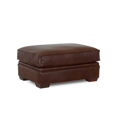 Picture of Mansfield Ottoman by Klaussner