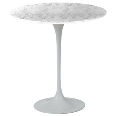 KN163PLSCMGGS: Customized Item of Saarinen 20in Round Side Table by Knoll (KN163)
