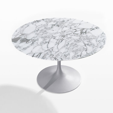 """KN164T2NGC-NMB: Customized Item of Saarinen Round Dining Table by Knoll. 54""""   (KN164T)"""