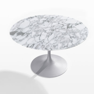 "KN164T2MAS-SMB: Customized Item of Saarinen Round Dining Table by Knoll. 54""   (KN164T)"