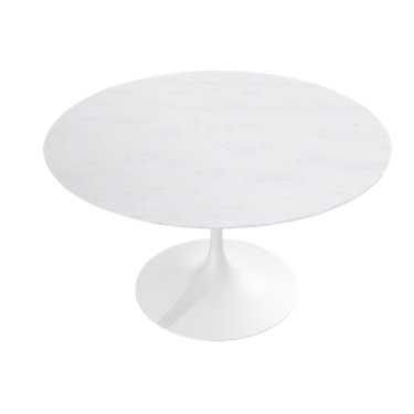 """KN165TPLF2L: Customized Item of Saarinen Round Dining Table by Knoll, 60"""" (KN165T)"""