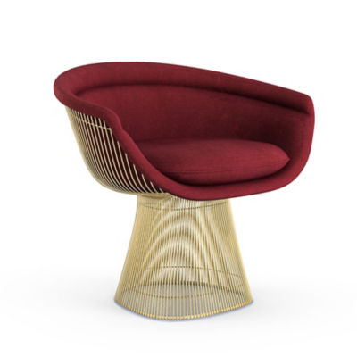 Picture of Platner Gold Lounge Chair by Knoll