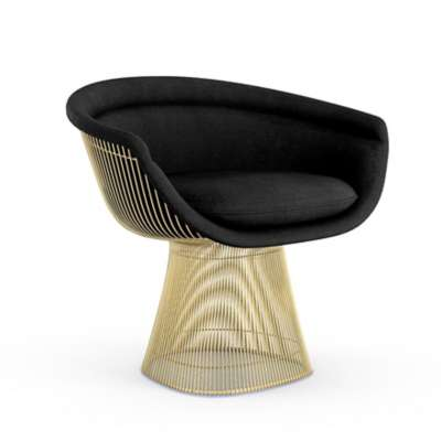 Picture for Platner Gold Lounge Chair by Knoll