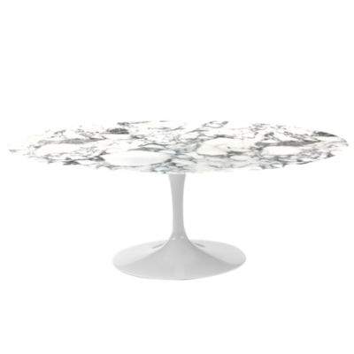 "KN174T2MACM: Customized Item of Saarinen Oval Dining Table by Knoll, 78"" (KN174T)"
