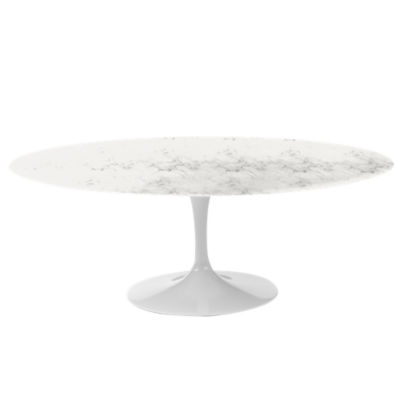 "KN174T2GCSSCM: Customized Item of Saarinen Oval Dining Table by Knoll, 78"" (KN174T)"