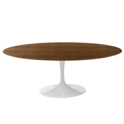 "KN174T1LWAV: Customized Item of Saarinen Oval Dining Table by Knoll, 78"" (KN174T)"