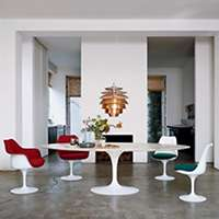 In Oval Saarinen Dining Table By Knoll Smart Furniture - Saarinen oval dining table 78