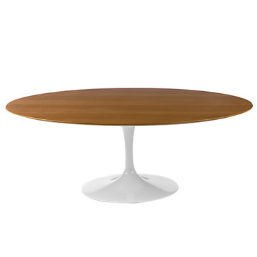 "KN175T2LF2: Customized Item of Saarinen Oval Dining Table by Knoll, 96"" (KN175T)"