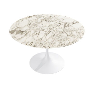 """KN176T2F2L: Customized Item of Saarinen Round Dining Table by Knoll. 47""""   (KN176T)"""