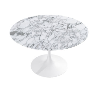 "KN176T2MASSC: Customized Item of Saarinen Round Dining Table by Knoll. 47""   (KN176T)"