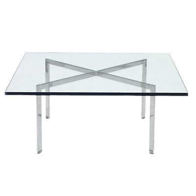 "Picture of Barcelona Table by Knoll, 18.5"" Tall"