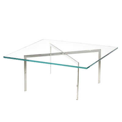 "Picture of Barcelona Table by Knoll, 17"" Tall"