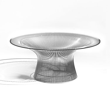 "KN3712TBRM-MCS: Customized Item of 36"" Platner Coffee Table by Knoll (KN3712T)"