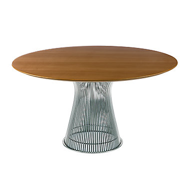 KN3716TNBRG: Customized Item of Platner Dining Table by Knoll (KN3716T)