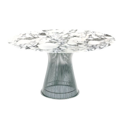 KN3716TNMAS: Customized Item of Platner Dining Table by Knoll (KN3716T)