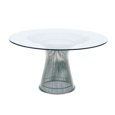 KN3716TNG2: Customized Item of Platner Dining Table by Knoll (KN3716T)