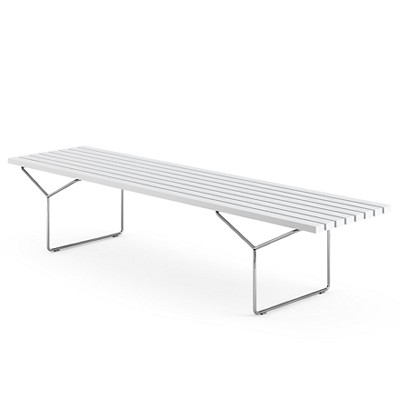 The Bertoia Bench By Knoll Smart Furniture - Bertoia coffee table