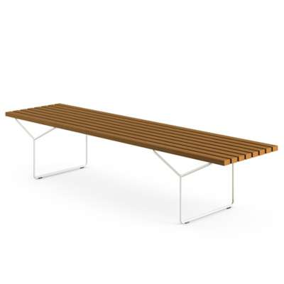 Picture for Bertoia Outdoor Teak Bench by Knoll