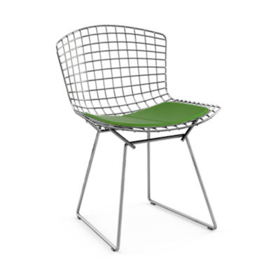 KN420S-C-K-K24264: Customized Item of Bertoia Side Chair with Seat Pad by Knoll (KN420S)