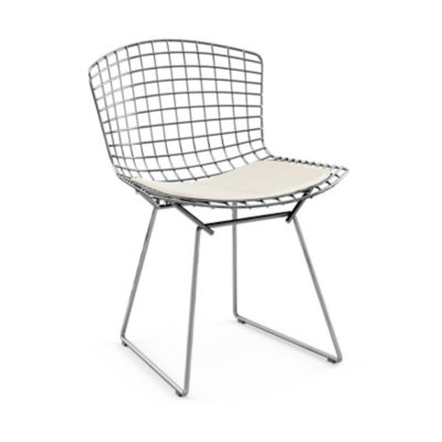 KN420S-C-K-K24213: Customized Item of Bertoia Side Chair with Seat Pad by Knoll (KN420S)