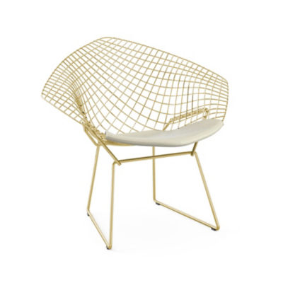 Picture of Bertoia Gold Diamond Chair by Knoll