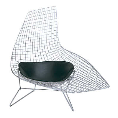 Picture of Asymmetric Lounge with Seat Pad by Knoll