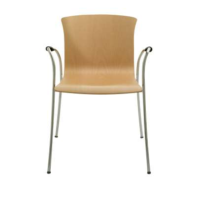 Picture for Cirene Stacking Chair with Arms by Knoll