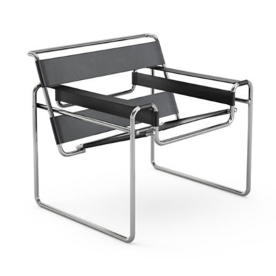 KN50L-BLBLCK: Customized Item of Wassily Chair by Knoll (KN50L)