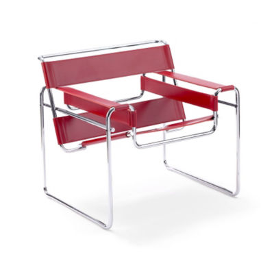 KN50L-RED: Customized Item of Wassily Chair by Knoll (KN50L)