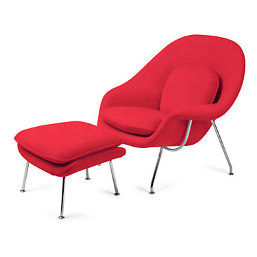 KN70LC-H8002: Customized Item of Womb Chair and Ottoman by Knoll (KN70L)