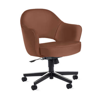 Picture of Saarinen Executive Armchair, Swivel Base by Knoll