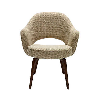 Picture of Saarinen Executive Armchair, Wood Legs by Knoll