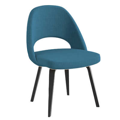 Picture of Saarinen Executive Armless Chair, Upholstered Back by Knoll