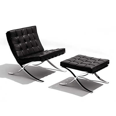 Picture of Barcelona Lounge Chair and Ottoman by Knoll