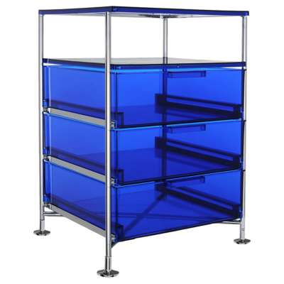Picture for Mobil 3-Drawer Container with Shelf by Kartell
