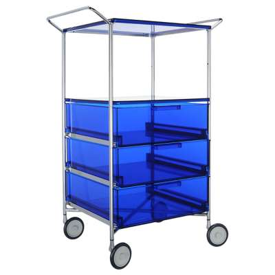 Picture for Mobil 3-Drawer Container and Shelf with Wheels by Kartell