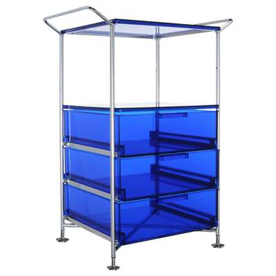 Picture for Mobil 3-Drawer Container and Shelf with Feets by Kartell