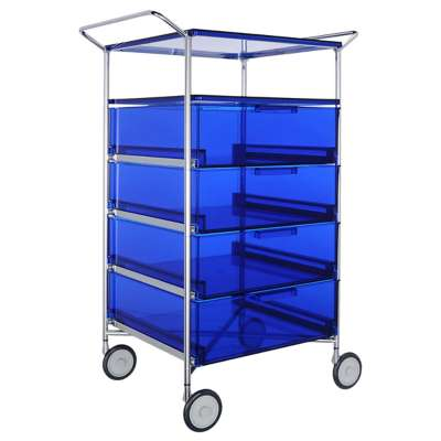 Picture for Mobil 4-Drawer Container and Shelf with Wheels by Kartell
