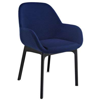 Black and Blue for Clap Melange Chair by Kartell (KT4182)