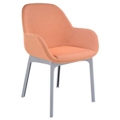 Gray and Orange for Clap Melange Chair by Kartell (KT4182)
