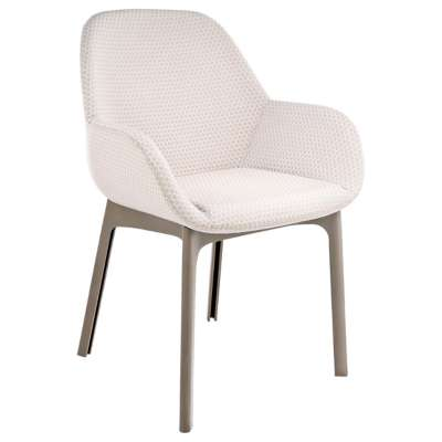 Tortoise and Beige for Clap Melange Chair by Kartell (KT4182)